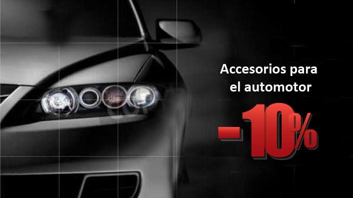 10% desc. en Accesorios del Automotor